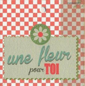 Vintage Une fleur pour toi !