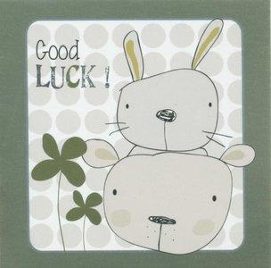 Nanou petite carte Good luck !