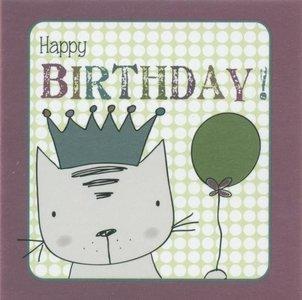 Nanou petite carte Happy birthday !