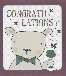 Nanou petite carte Congratulations !